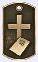 2 in. Dog Tag - Religion