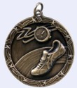 2 in. Shooting Star Medal - Track