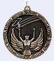 2 in. Shooting Star Medal - Victory