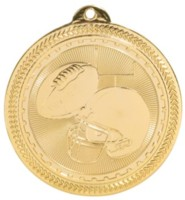2 in. Brite Football Medal
