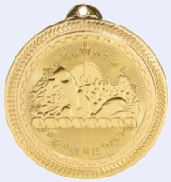 2 in. Brite Swimming Medal