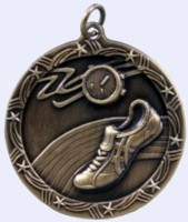 1&#190 in. Track Shooting Star medal