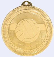 2 in. BriteVolleyball Medal